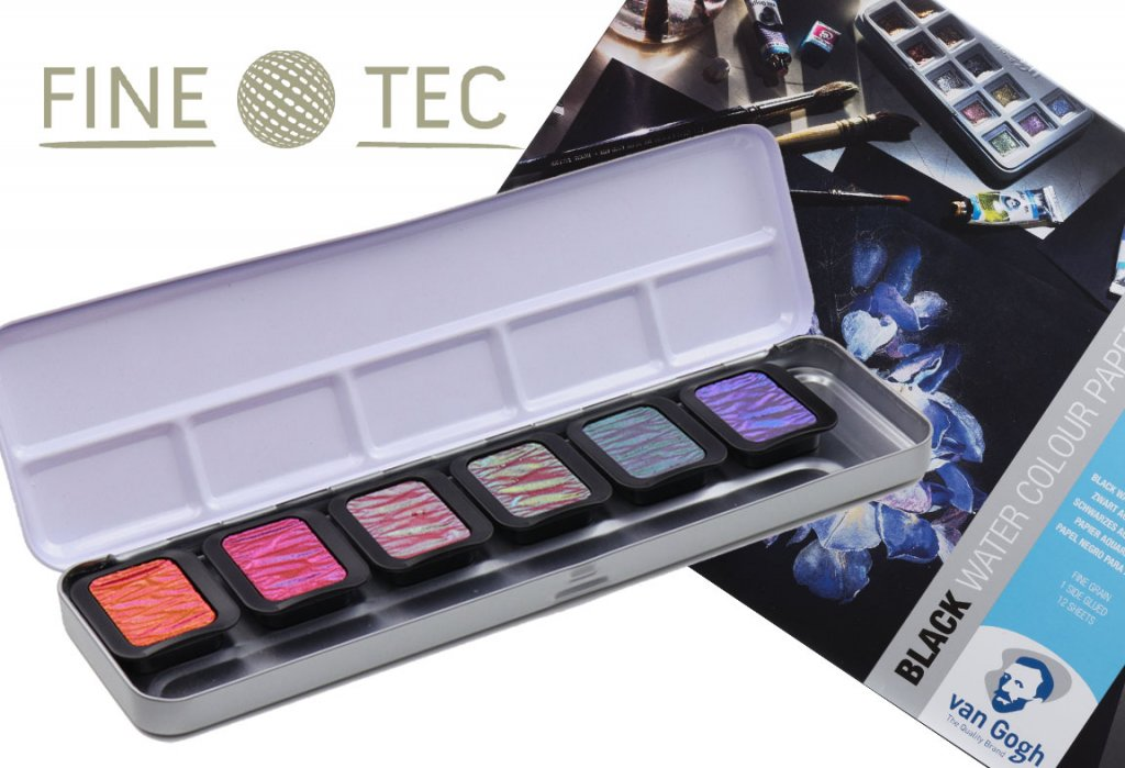 Finetec World Watercolor Month 2021 Giveaway Prize Image