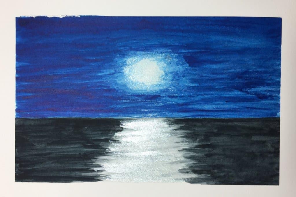 #doodlewashaugust2021 Day 3: Seaside Still practising white within watercolour. IMG_1057