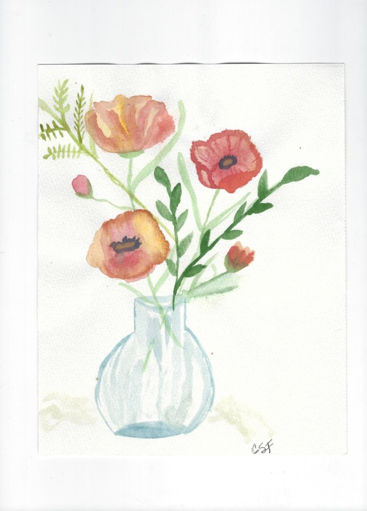 Bouquet of Poppies Image (3)