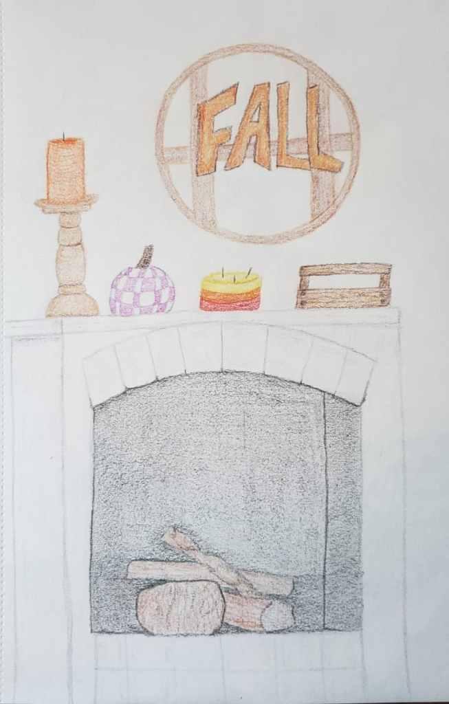 23: fireplace #doodlewashSeptember2021 20210919_155945