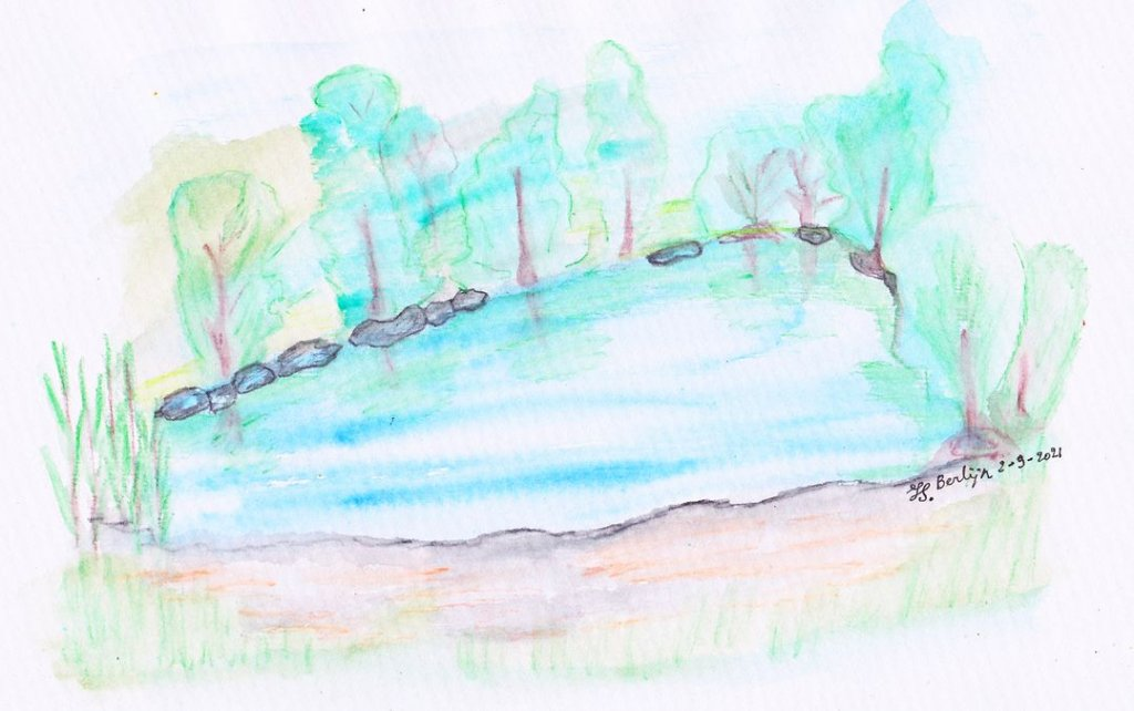 An impression of the place near Kladow, Berlin were we were out camping. there are a lot of lakes wi