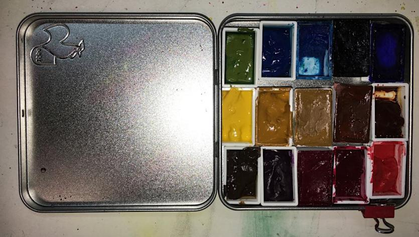YouTangle tin as Palette