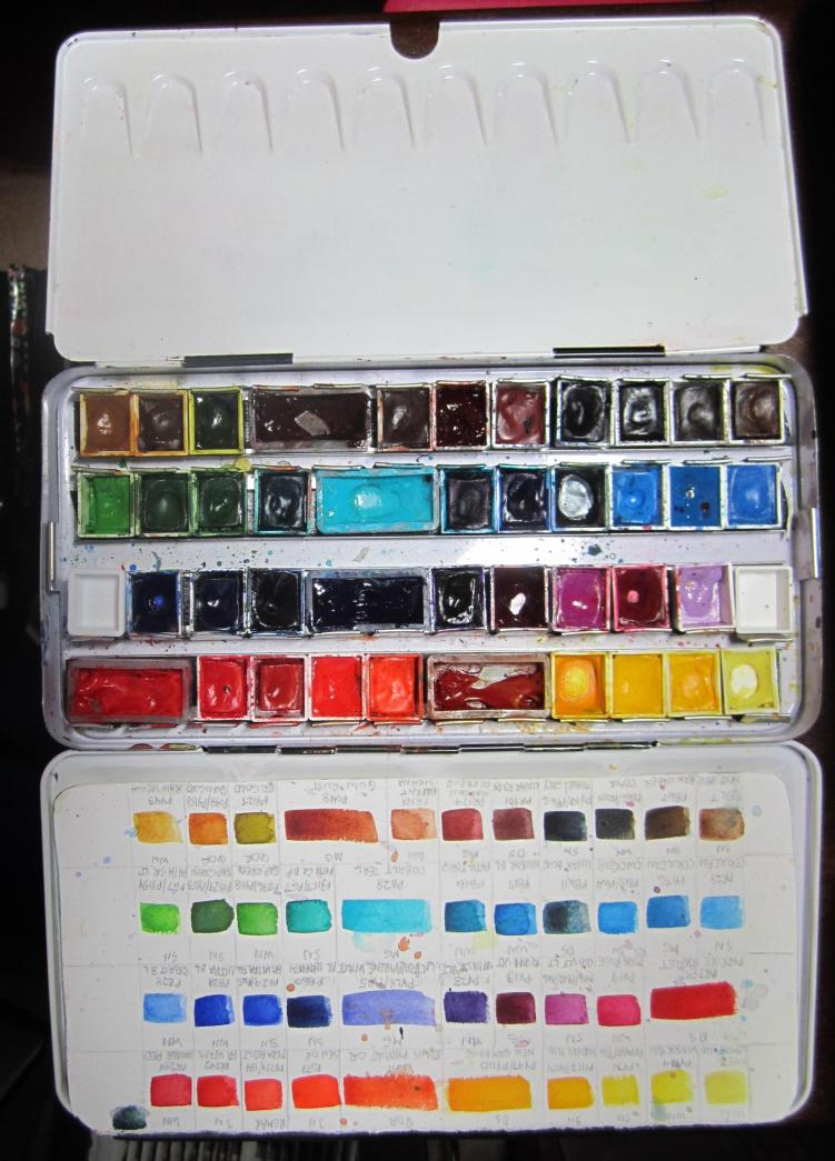 Daniel Smith Watercolor Palette : daniel, smith, watercolor, palette, Doodlewash®