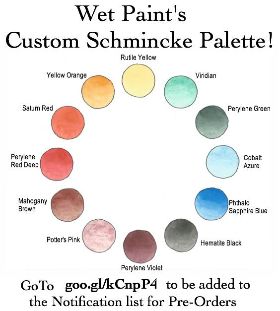 Custom Schmincke Palette Colors