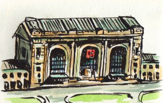 Union Station Sketch