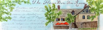 #Doodlewash - The Flour Box Tea Room - #WorldWatercolorGroup
