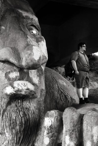 Giant & Little Man