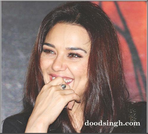 Preity Zinta loves Gym