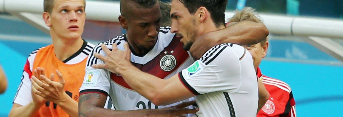 Injured against Portugal: the defender Jerome Boateng and Mats Hummels