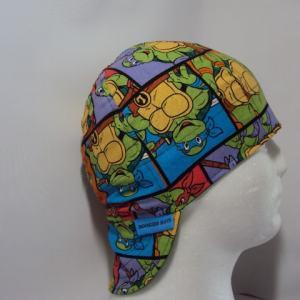 Ninja Turtles Block Welding Cap