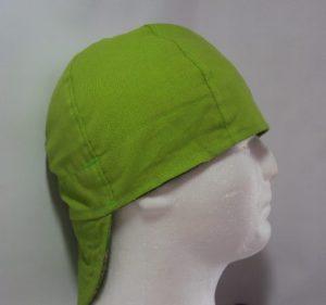 All Lime Green Welders Hat