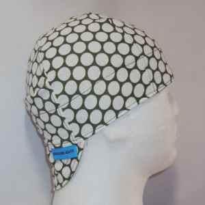 Big Dots On Olive Welding Caps