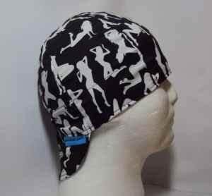 Black Silhouettes Welding Cap