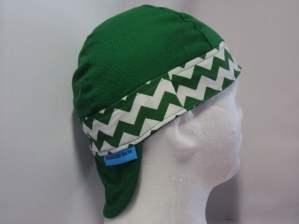Chevron Color Band Welding Hat