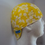 Hibiscus Yellow Welders Cap