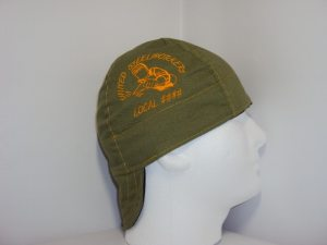 Embroidered United Steelworkers Union And Local Number Welders Cap