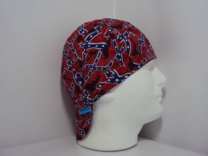 Confederate Flag Welding Cap