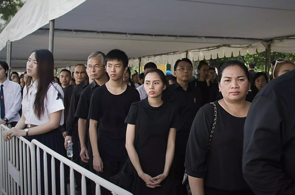 Bangkok, 26 ottobre 2017, Il funerale del re   ©Joyce Donnarumma, 2017