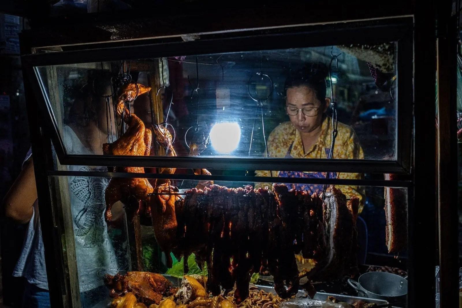 Street food, Kampong Cham | ©Gabriele Orlini, 2019