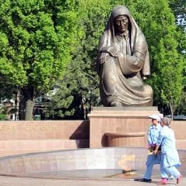 Freedom Square in Tashkent