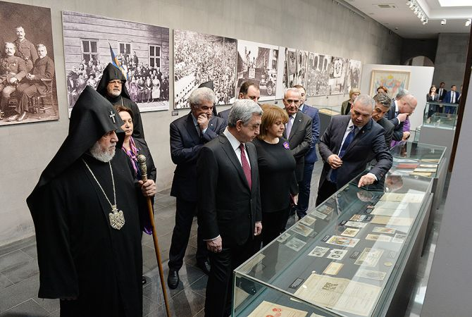 Armenian Genocide Museum - Exhibition