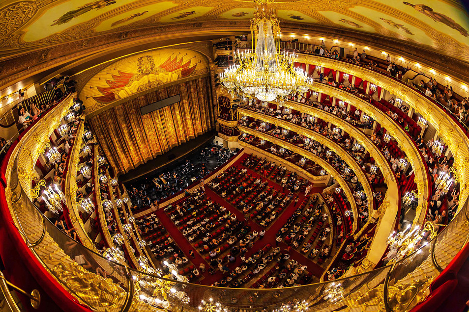 Bolshoi Theatre full View Inside