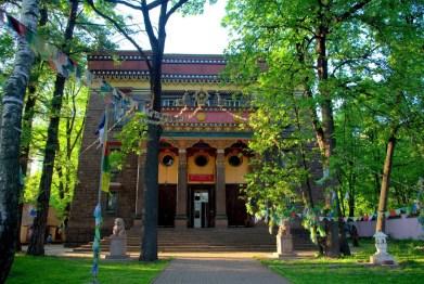 Buddhist Temple Datsan Gunzechoinei front View