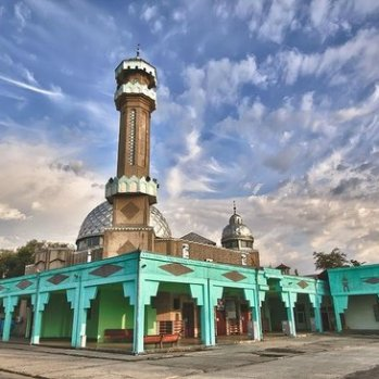 Central Mosque Best View