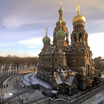 Church of the Savior on Spilled Blood Side View