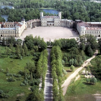 Gatchina Palace and Park - Aerial View
