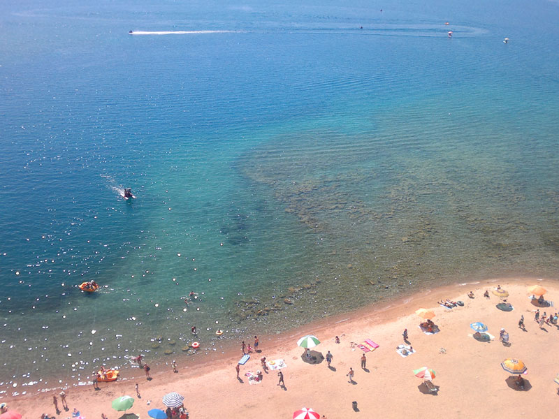 Issyk-Kul Lake Beach