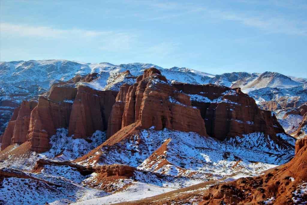 Konorchek Canyons Winters - Snow