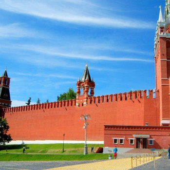 Kremlin Walls & Towers Moscow