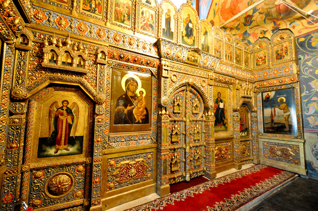 St. Basil's Cathedral Inside View
