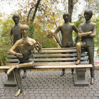 The Beatles Monument Almaty