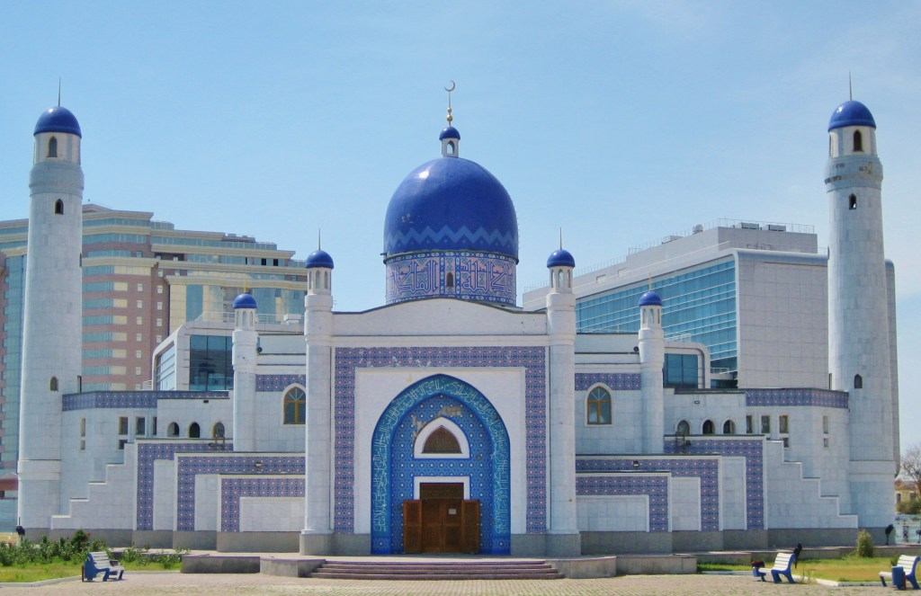 Central Mosque Almaty front View
