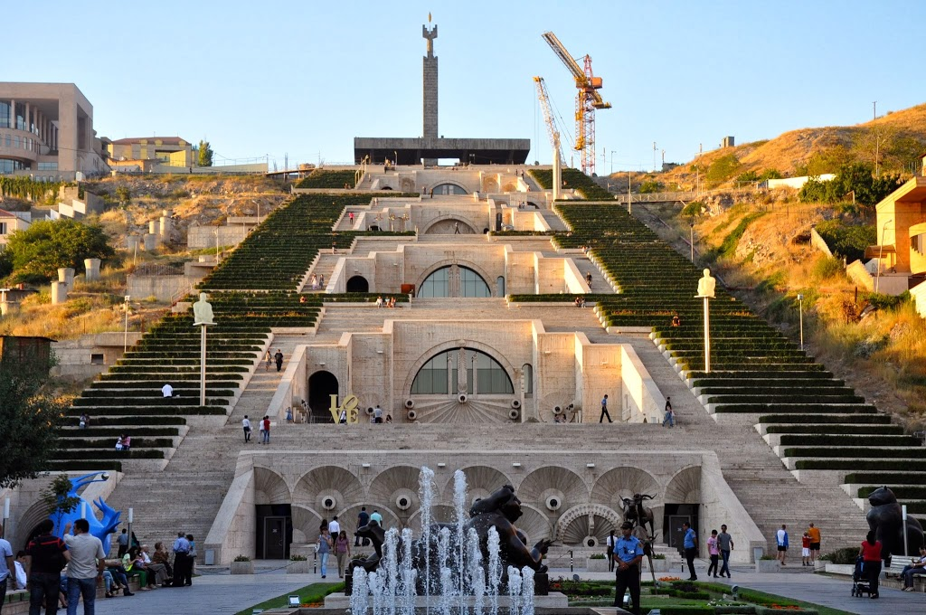 Yerevan Cascade full View