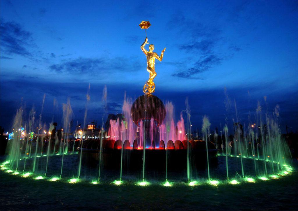 Fountain Circus Astana - Evening