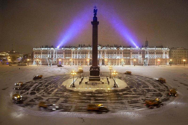 Palace Square Evening View