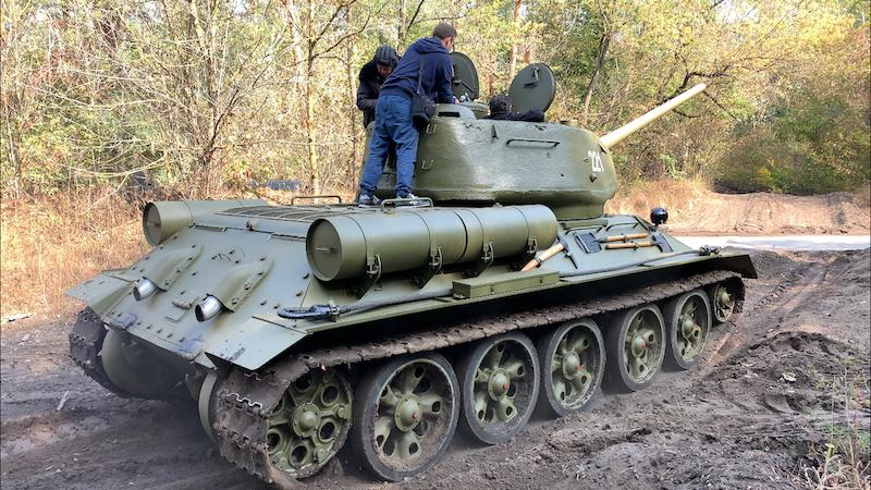 Tank Ride Kiev