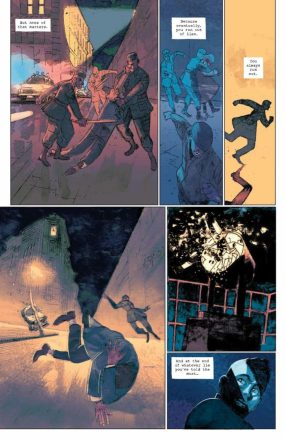 Image result for strange skies over east berlin #1 boom studios interrogation