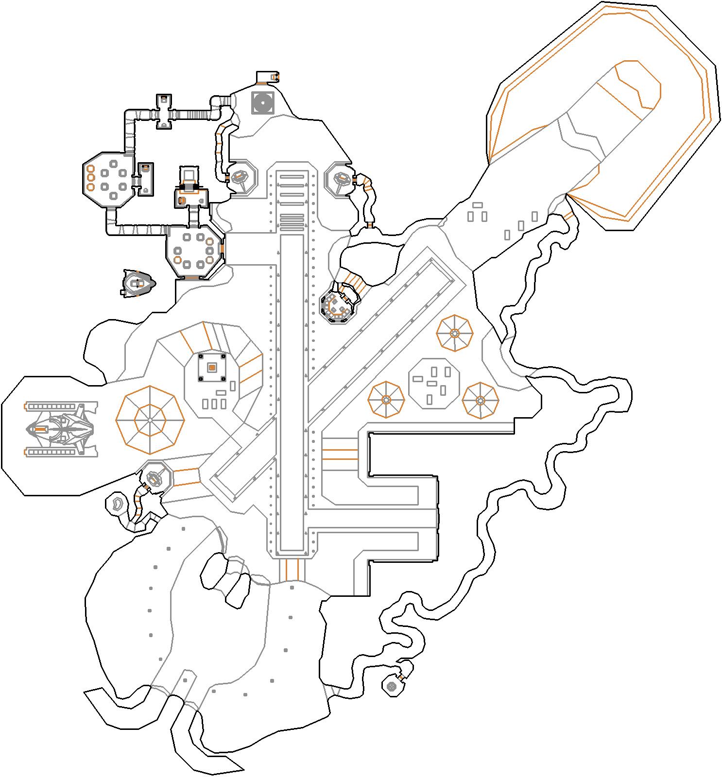 Map21 Landing Site Daedalus Alien Defense