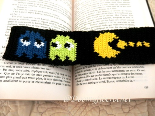 Pacman marque pages