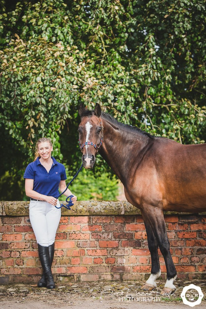 Georgie's Horse and Rider Photo Shoot Cheshire