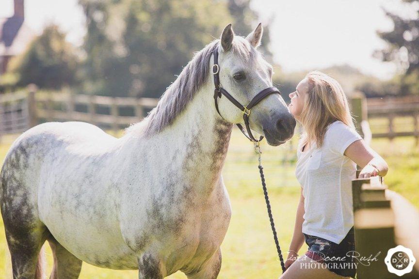 horse and rider photo shoot cheshire