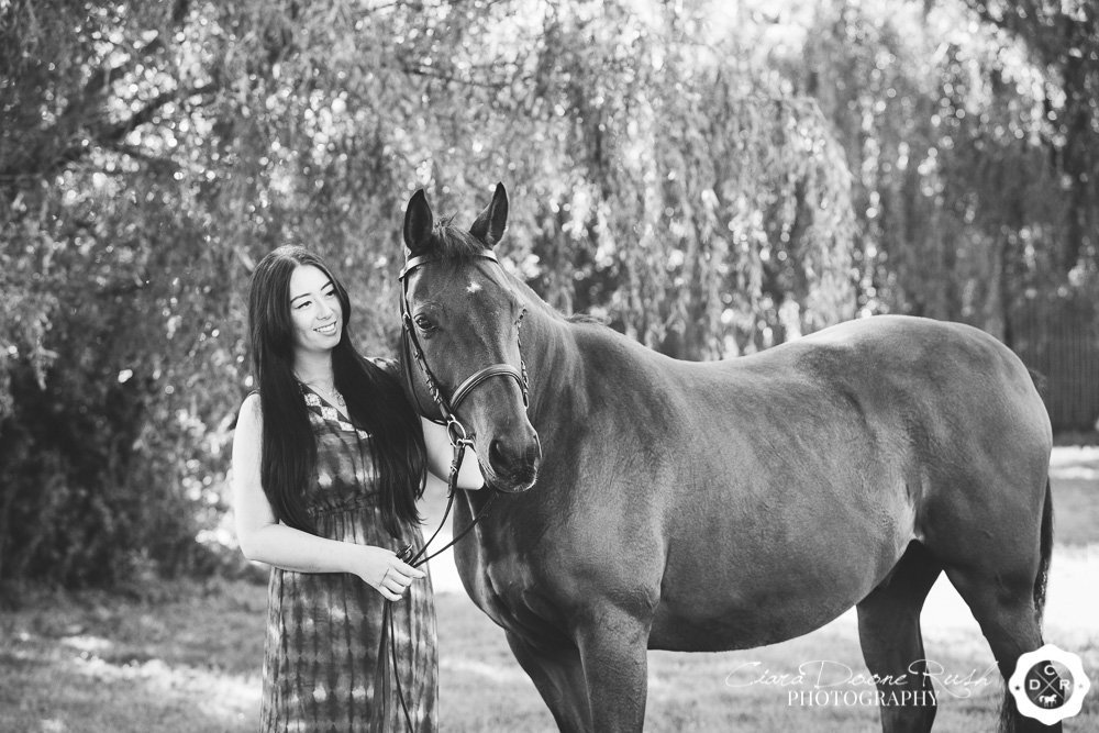 horse and rider photo shoot merseyside