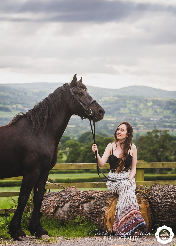 outfit ideas for an equine photo shoot