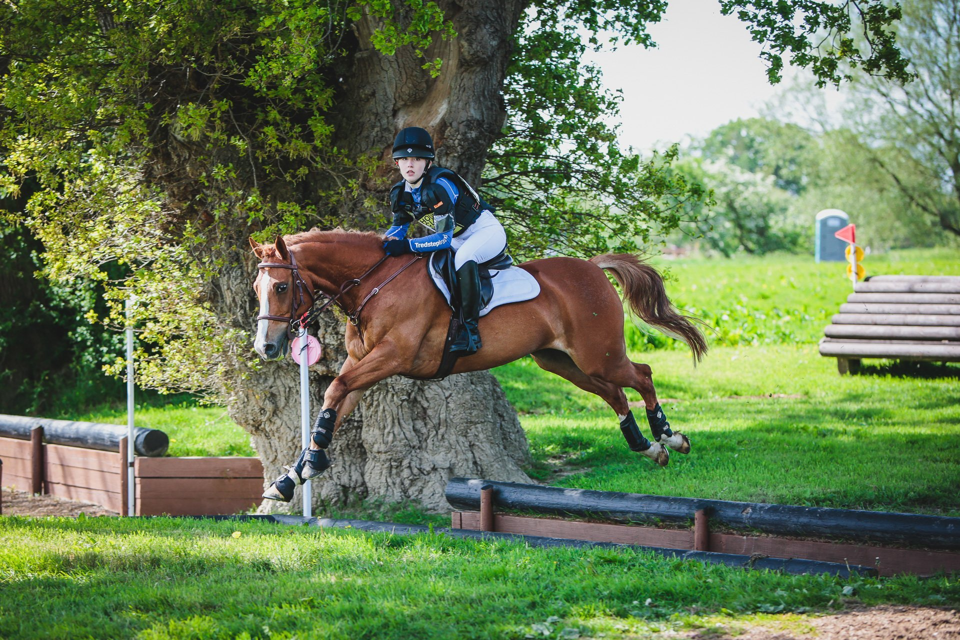 a b*spoke competition shoot at Llanymynech horse trials