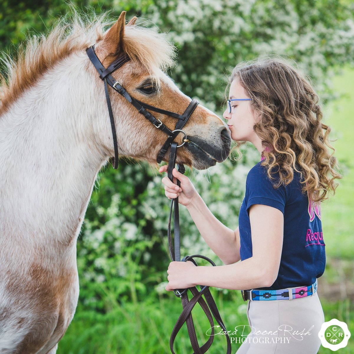 A pony and rider photo shoot in Cheshire
