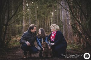 A Family and animals photo shoot in Delamere forest